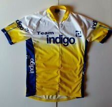 Louis Garneau Cycling Jersey XL Made in The USA Team Indigo Medium