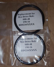 Qty 2 - Drive Belt for Ilco 008 Key Cutting Machine  Replaces 008-48, 190-16