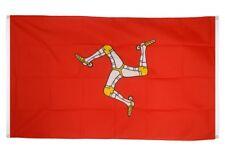 BALKONFLAGGE BALKONFAHNE Großbritannien Isle of Man Flagge Fahne für den BALKON