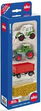 New Siku (6304) Agricultural Farm Set 1:87 Scale Farm Tractors and Trailers Set