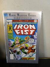 IRON FIST #14 MARVEL MILESTONE EDITION COMIC 1992 MARVEL BAGGED BOARDED ~