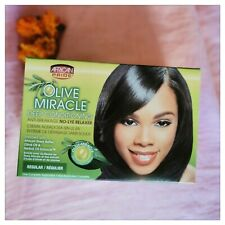 African Pride Olive Miracle No-Lye Relaxer - Regular - Australia Stock