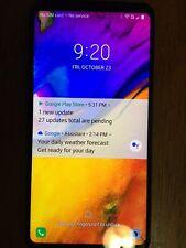 Good Condition LG V35 ThinQ - 64GB - Aurora Black (GSM Unlocked) Smartphone