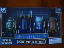 Star Wars Disney Park exclusive rare CLONE WARS DROID FACTORY SET DE 4 droïdes.