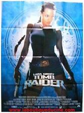 LARA CROFT TOMB RAIDER Affiche Cinéma / Movie Poster ANGELINA JOLIE