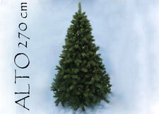 Albero Di Natale Pino Sweden Cm 270 Tips 2241 Base Cm 172 arredo natalizio