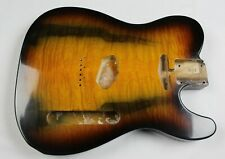 MJT Official Custom Vintage Age Nitro Guitar Body By Mark Jenny VTT Quilt Maple
