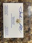 Trent Lott signed business card former Senate majority Leader From Mississippi