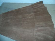COUNTRY suede VTG dawn fashions SQUARE DANCE SKIRT sz XS