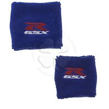 Large & Small Set Blue Brake & Clutch Reservoir Cover Sleeve Motorcycle GSXR
