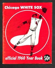 1960 Chicago White Sox team YEARBOOK from '60 season signed by Al Smith on cover