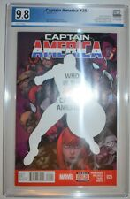 CAPTAIN AMERICA #25 (2014) PGX 9.8 Like CGC - WHITE pages - 1st Sam Wilson as