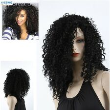 New Kinky Curly Afro Wig 22in Long Kinky Curly Black Women Black Hair for Women