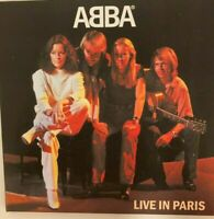 """ABBA """"Live In Paris 1979""""   RARE EDITION 2 CD !"""