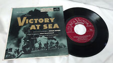 Robert Russell Bennett 45 EP Victory at Sea RCA Victor ERA 150 NBC Television PS