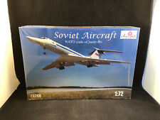 "Amodel Soviet Aircraft NATO code ""Crusty-B"" 1:72 Scale Plastic Model Kit 72268"