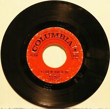 "Kitty Kallen ""The Door That Won't Opne/ If I Give My Heart To You"" 45RPM VG Cond"