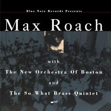 Max Roach With the New Orchestra Of Boston & The So What Brass Quintet BLUE NOTE
