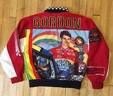 Vintage Jeff Gordon Speed Zone 1996 Jacket All Over Print Sam Bass Art Size S