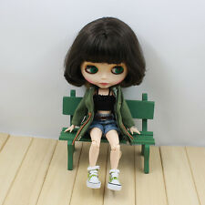 """12"""" Neo Blythe Doll Joint Body Matte Face from Factory Nude Doll JSW92001"""