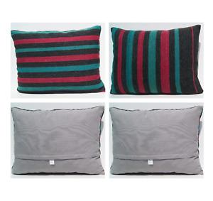 "Anatolian pillows handmade wall art rug case 2 pillow covers from Turkey 24""X18"""