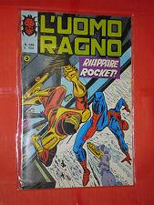 UOMO RAGNO spiderman -N° 266 -prima SERIE 1°- DEL 1977 -CORNO- usato NO PANINI