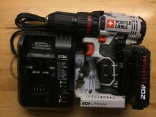Porter-Cable PCC601 Cordless Drill 20V 1.3Ah Li Battery PCC681L Charger PCC691L