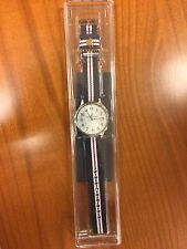 Brooks Brothers Men's Watch Stainless Steel Case Nylon Strap Japanese Movement