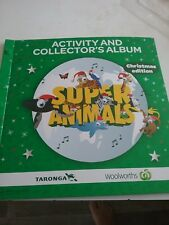 Woolworths Super Animals Album Christmas Edition 2014 - Cards - New