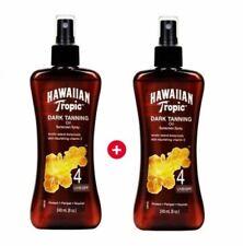 Hawaiian Tropic Dark Tanning Oil Sun Tan SPF 4 / Tracking no / 1+1=480ml/Spray