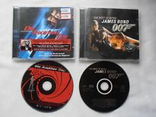 2 James Bond cds Die Another Day - Madonna Music from the film + Best of Bond