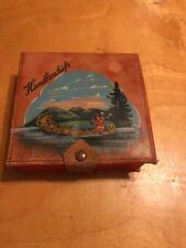 Vtg Handkerchiefs Tupper Lake Box B6
