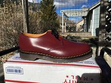 80s Vintage Dr. Martens GT Hawkins 10 shoes oxblood 3-eye 1461 doc gibson oxford