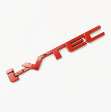 For Honda I-VTEC TURBO Trunk Red Aluminium Emblem Sticker  badge Fast Shipping