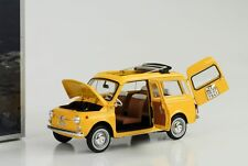Fiat 500 giardiniera 1968 Positano Yellow Norev 1 18