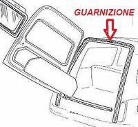 FIAT 500 GIARDINIERA GUARNIZIONE PORTA POSTERIORE SUPERIORE GIARDINETTA RUBBER