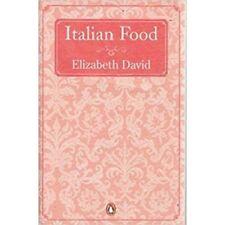Italian Food Penguin Cookery Library Elizabeth David Book