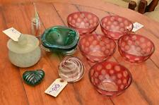 Group Modernist and Venetian glass objects Lot 1360