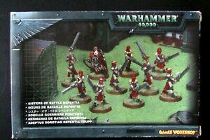 OOP Citadel / Warhammer 40k Witch Hunters / Sisters Of Battle Repentia BNIB