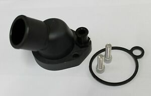 FORD WINDSOR 45 DEGREE SWIVEL THERMOSTAT HOUSING WATER NECK BLACK