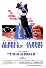 TWO FOR THE ROAD Movie POSTER 27x40 Audrey Hepburn Albert Finney Eleanor Bron