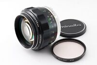 """AS-IS"" Minolta MC Rokkor-PG 58mm f/1.2 MF Prime Lens From Japan 8462"