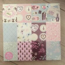 Paper Pad 24 Blatt 15,2 x 15,2 cm Scrapbook Papier Vintage Romance 190 g/m