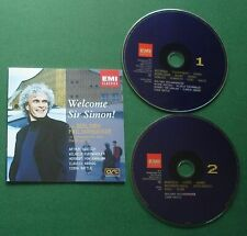 Welcome Sir Simon Rattle BPO ft Furtwangler von Karajan Abbado + Promo 2 x CD