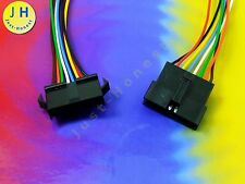 KIT BUCHSE+STECKER 8 polig / way verdrahtet  Male+Female Connector wired #A1258