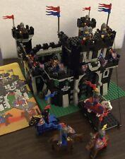 Lego System Ritter - Schwarze Drachenburg - 6085 - komplett Mit Anleitung