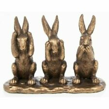 Hares Woodland Ornament 3 Wise Hares