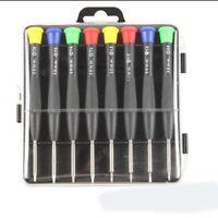 8Pack Repair Tool Kit For Iphone 7 X Magnetic Premium Solid Screwdriver Tool Set