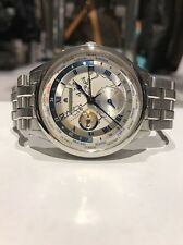 Maurice Lacroix Masterpiece GMT Worldtimer Stainless Watch MP6008-SS002-111