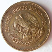 Mexico Bin #4 1981 MEXICO PESOS FREE SHIP MAYAN ART CROWN AU//UNC